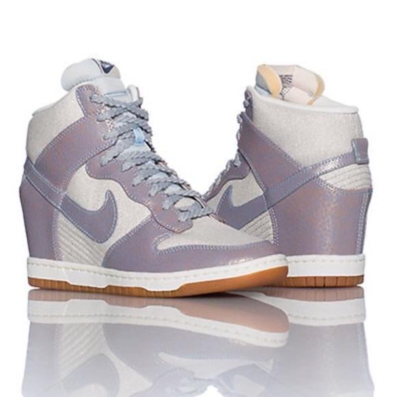 Women s Nike Dunk Sky Hi Vintage Sneakers ad183fabae